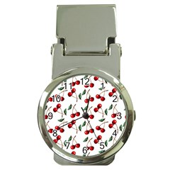 Cherry Red Money Clip Watches by Kathrinlegg