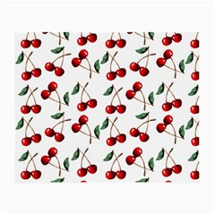 Cherry Red Small Glasses Cloth (2 Side) by Kathrinlegg
