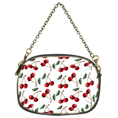Cherry Red Chain Purses (one Side)  by Kathrinlegg