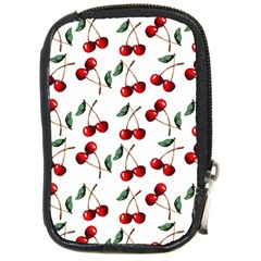 Cherry Red Compact Camera Cases by Kathrinlegg