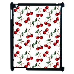 Cherry Red Apple Ipad 2 Case (black) by Kathrinlegg