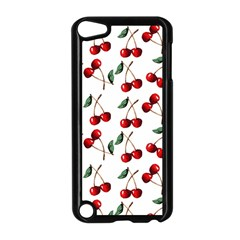 Cherry Red Apple Ipod Touch 5 Case (black) by Kathrinlegg
