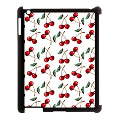 Cherry Red Apple Ipad 3/4 Case (black) by Kathrinlegg