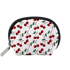 Cherry Red Accessory Pouches (small)  by Kathrinlegg