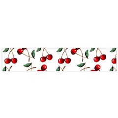Cherry Red Flano Scarf (small) by Kathrinlegg