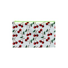Cherry Red Cosmetic Bag (xs) by Kathrinlegg