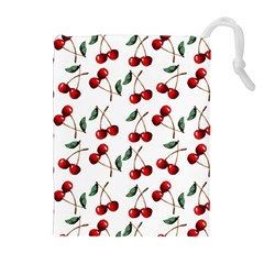 Cherry Red Drawstring Pouches (extra Large) by Kathrinlegg