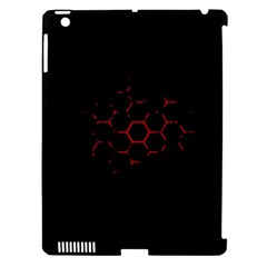 Abstract Pattern Honeycomb Apple Ipad 3/4 Hardshell Case (compatible With Smart Cover) by BangZart