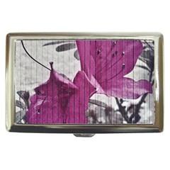Vintage Style Flower Photo Cigarette Money Cases by dflcprints