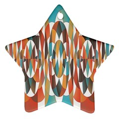 Colorful Geometric Abstract Ornament (star) by linceazul