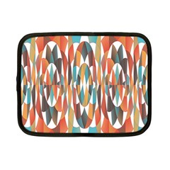 Colorful Geometric Abstract Netbook Case (small)  by linceazul