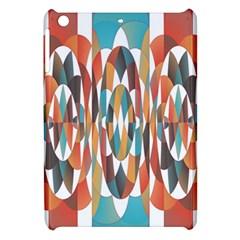 Colorful Geometric Abstract Apple Ipad Mini Hardshell Case by linceazul