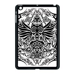 Tattoo Tribal Owl Apple Ipad Mini Case (black) by Valentinaart