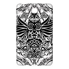 Tattoo Tribal Owl Samsung Galaxy Tab 4 (7 ) Hardshell Case  by Valentinaart