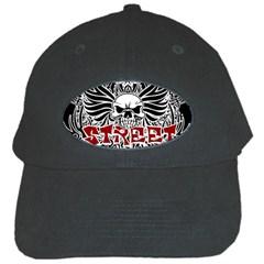 Tattoo Tribal Street Art Black Cap by Valentinaart