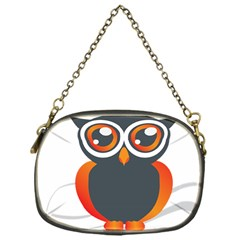 Owl Logo Chain Purses (one Side)  by BangZart