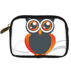 Owl Logo Digital Camera Cases by BangZart