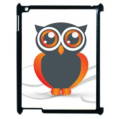 Owl Logo Apple Ipad 2 Case (black) by BangZart