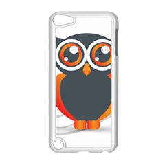 Owl Logo Apple Ipod Touch 5 Case (white) by BangZart