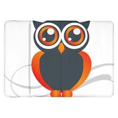 Owl Logo Samsung Galaxy Tab 8 9  P7300 Flip Case by BangZart