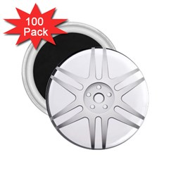 Wheel Skin Cover 2 25  Magnets (100 Pack)  by BangZart
