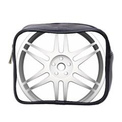 Wheel Skin Cover Mini Toiletries Bag 2 Side by BangZart