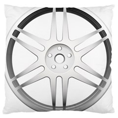 Wheel Skin Cover Large Cushion Case (two Sides) by BangZart
