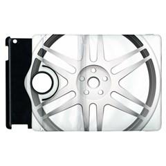 Wheel Skin Cover Apple Ipad 3/4 Flip 360 Case by BangZart