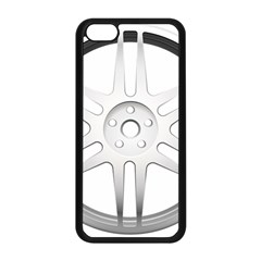 Wheel Skin Cover Apple Iphone 5c Seamless Case (black) by BangZart