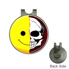 Skull Behind Your Smile Hat Clips With Golf Markers by BangZart