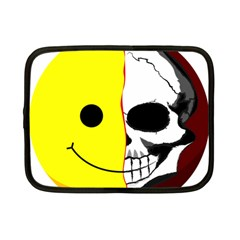 Skull Behind Your Smile Netbook Case (small)  by BangZart