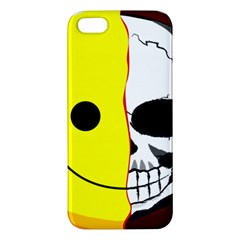 Skull Behind Your Smile Iphone 5s/ Se Premium Hardshell Case by BangZart