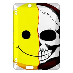 Skull Behind Your Smile Kindle Fire Hdx Hardshell Case by BangZart