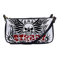 Tattoo Tribal Street Art Shoulder Clutch Bags by Valentinaart