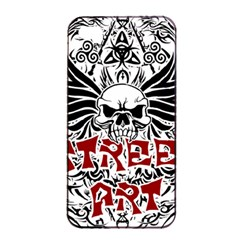 Tattoo Tribal Street Art Apple Iphone 4/4s Seamless Case (black) by Valentinaart