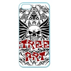 Tattoo Tribal Street Art Apple Seamless Iphone 5 Case (color) by Valentinaart