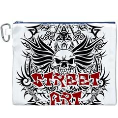 Tattoo Tribal Street Art Canvas Cosmetic Bag (xxxl) by Valentinaart