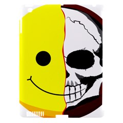 Skull Behind Your Smile Apple Ipad 3/4 Hardshell Case (compatible With Smart Cover) by BangZart