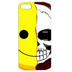 Skull Behind Your Smile Apple Iphone 5 Hardshell Case With Stand by BangZart