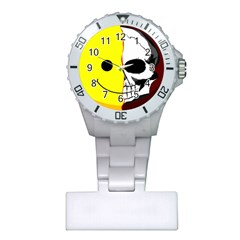 Skull Behind Your Smile Plastic Nurses Watch by BangZart