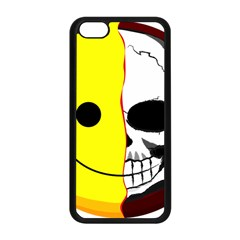 Skull Behind Your Smile Apple Iphone 5c Seamless Case (black) by BangZart