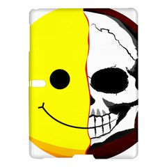 Skull Behind Your Smile Samsung Galaxy Tab S (10 5 ) Hardshell Case  by BangZart