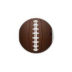 Football Ball Golf Ball Marker (4 Pack) by BangZart