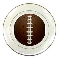 Football Ball Porcelain Plates by BangZart