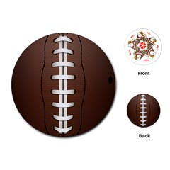 Football Ball Playing Cards (round)  by BangZart