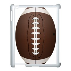 Football Ball Apple Ipad 3/4 Case (white) by BangZart