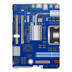 Classic Blue Computer Mainboard Samsung Galaxy Tab S (10 5 ) Hardshell Case  by BangZart