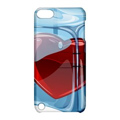 Heart In Ice Cube Apple Ipod Touch 5 Hardshell Case With Stand by BangZart