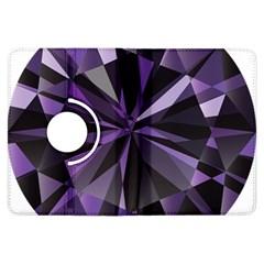 Amethyst Kindle Fire Hdx Flip 360 Case by BangZart