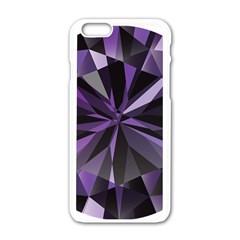 Amethyst Apple Iphone 6/6s White Enamel Case by BangZart